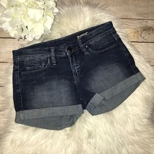 Blank NYC The Rollover Denim Shorts